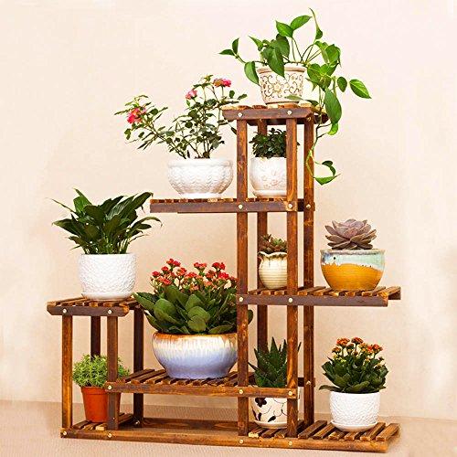 Malayas Etagere De Fleur Bois Presentoire De Jardin Etagere De