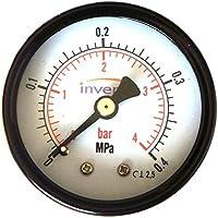 Plomería INDUSTRIAL 50mm Hidráulico Manómetro Manómetro 4 bar