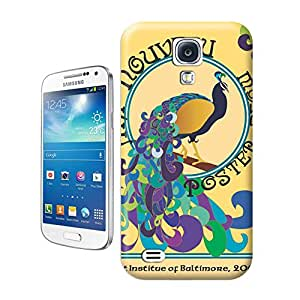 Yishucase-Colorful Peacock lovely cartoon mobile phone shell durable top Hard Cover for Samsung Galaxy Note 4 case