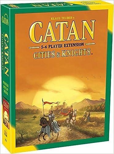 Catan: Cities and Knights, 5-6 Player Expansion: Amazon.es: Teuber, Klaus: Libros en idiomas extranjeros