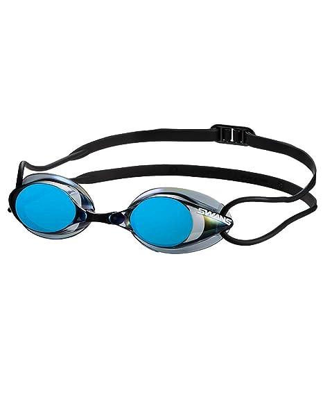 2a4e4d282dd Amazon.com   SWANS SR1 Mirrored Goggles - Smoke Blue   Sports   Outdoors