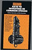 Keys to Investing in Common Stock, Barbara Apostolou and Nicholas G. Apostolou, 0812042913