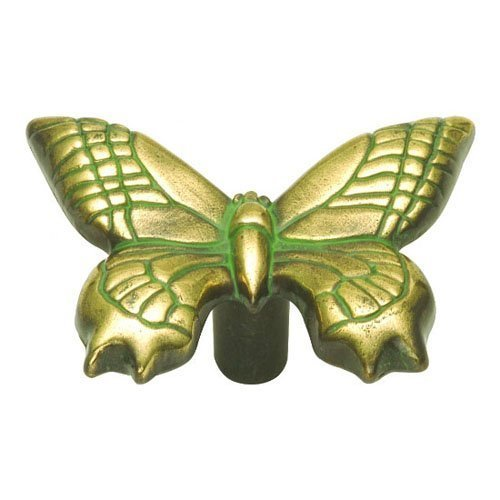 Hickory Hardware PA1513-VA 1-15/16-Inch South Seas Cabinet Knob, Verde Antique by Hickory ()