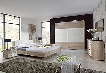 QUELLE Schlafzimmer »Franziska« (4-tlg.), natur, 180/200 cm ...