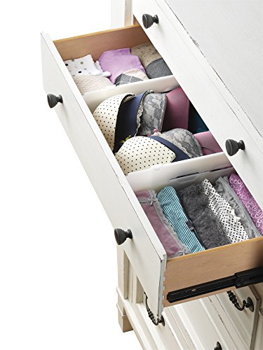 Whitmor Adjustable Drawer Dividers Drawer Organizers