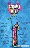 """Write Here Notebooks: Cocktail Journal/Diary/Notebook Lined Paper 100 Pages 5""""x8"""" Composition Book Cocktail Series (Bahama Mama)"""