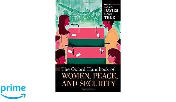 Amazon.com: The Oxford Handbook of Women, Peace, and ...
