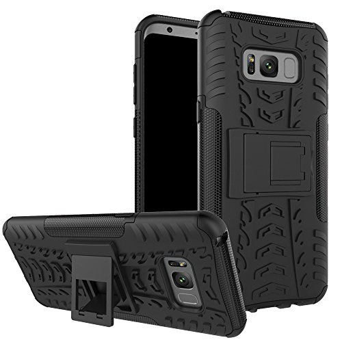 Galaxy S8 Cover Case,Jessica Kickstand Feature Heavy Duty Protection PC and Silicone feature Full-body Rugged Protective Case for Samsung Galaxy S8 (2017 Released) -