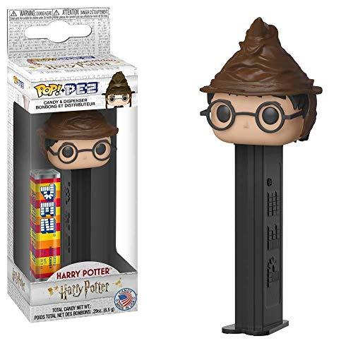 [해외]Funko Pop! Pez: 해리 포터 - 해리 포터 (소팅 모자) 37241 / Funko Pop! Pez: Harry Potter - Harry Potter (Sorting Hat) 37241, Multicolor