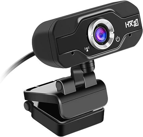Computer HXSJ S60 30 fps 1 Megapixel 1080P HD Cámara Web para computadora de Escritorio/portátil/Smart TV, con 10m de micrófono Absorbente de Sonido, Longitud: 1.4 m: Amazon.es: Electrónica