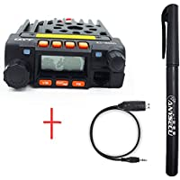 KT8900 Dual Band Transceiver VHF/UHF 20W MINI Moblie Radio+USB Programming Cable