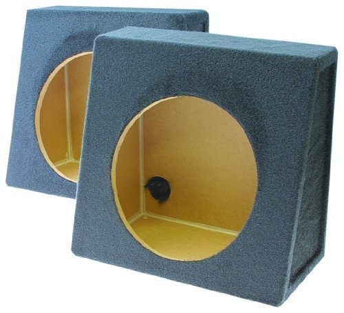 - Q Power Pair 12-Inch Single Unloaded Boxes, 1-Pair