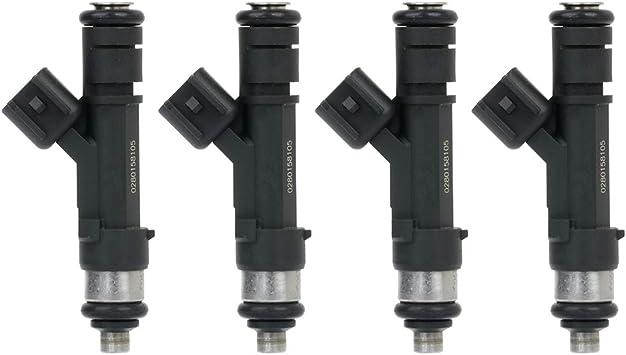 4 OEM Denso Fuel Injectors 23209-39175 for Toyota Camry RAV4 2009-12 2.5L Set