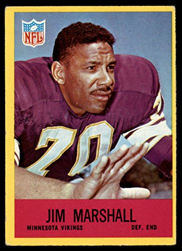 1967 Philadelphia # 103 Jim Marshall Minnesota Vikings (Football Card) Dean's Cards 3 - VG