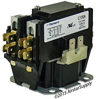 Packard packard c240a contactor 2 pole 40 amps 24 coil voltage goodman 30 amp 1 pole 24v coil packard replacement contactor c130a swarovskicordoba