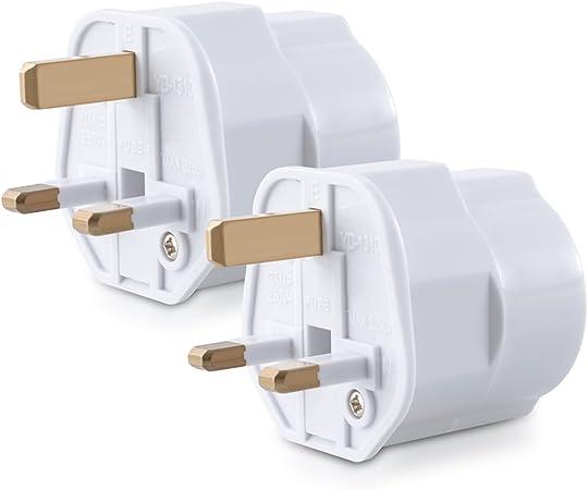 kwmobile 2 adaptadores de Viaje compactos para Inglaterra: Amazon.es: Electrónica