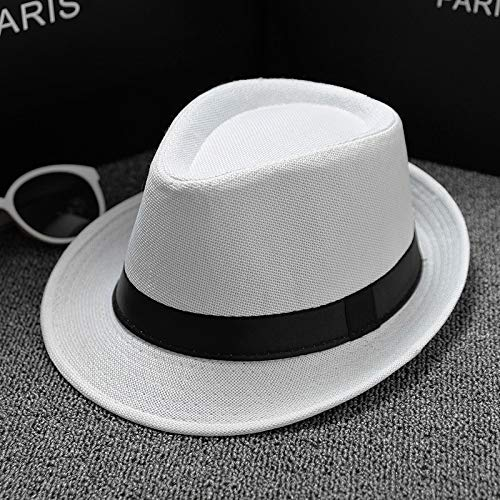 eb06570b05d Vimart Summer Men Hat Straw men39 s Cowboy Hats Cap for Men and Women  Bucket Hats with Brim Fedora hat (6) at Amazon Men s Clothing store