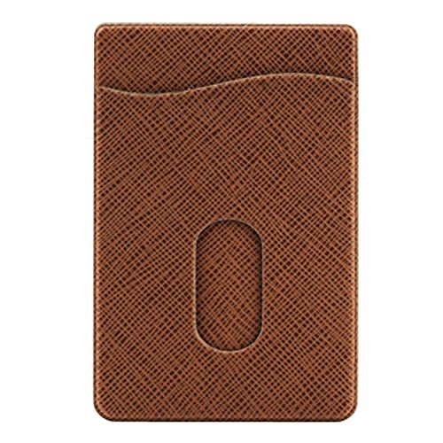 Sevenly Traders BRN1 Phone Card Holder, Stick-on Leather ...