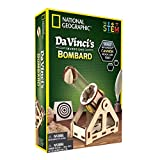 National Geographic da Vinci's Inventions DIY Bombard Kit - Build Your Own Working, Wooden Desktop Model