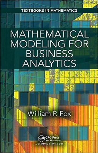 Mathematical Modeling Ebook