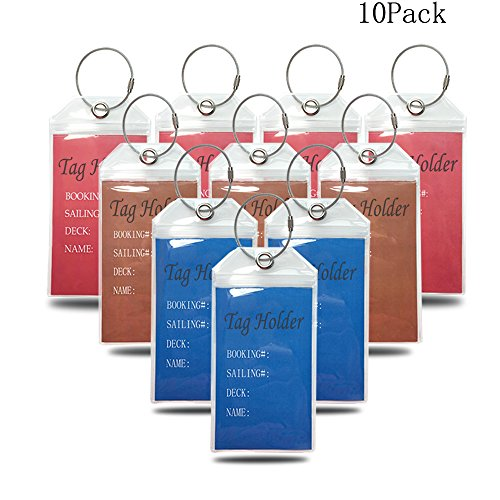 haoran-durable-thick-pvc-cruise-luggage-tag-holders-with-zip-seal-stainless-steel-loops-10-pack