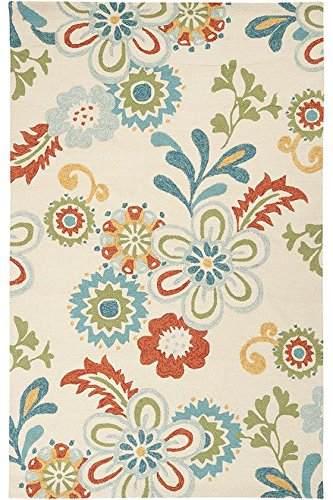 Tilly Area Rug  5X8  Ivory