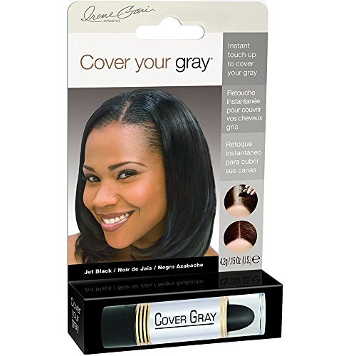 Cover Your Gray Touch Up Stick Jet Black, 0.15 oz (Pack of 2)