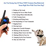 Dog-Training-Collar-for-Small-Medium-Large-Dogs-330-Yards-Rechargeable-Remote-and-Rainproof-Receiver-4-Modes-BeepVibrationShockFlashlight-For-All-Size-Dogs-10lbs-100lbs-Bonus-Training-E-Book