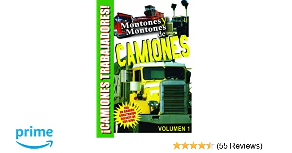 Amazon.com: Lots and Lots of Trucks Vol. 1 DVD in Spanish for Kids - Montones Y Montones de CAMIONES: Trucks, Construction trucks, Tom Edinger: Movies & TV