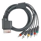 Gam3Gear HDTV HD AV RCA Component Cable Cord For MICROSOFT Xbox 360 / XBOX 360 Slim