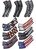 9 Pairs American Independence Day Arm Sleeves USA