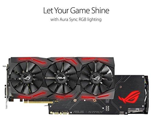 ASUS ROG Strix GeForce GTX 1070 Ti 8GB GDDR5 VR Ready DP HDMI DVI Gaming Graphics Card (ROG-STRIX-GTX1070TI-8G-GAMING) Photo #5