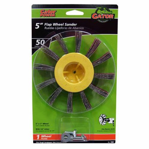 ALI INDUSTRIES 7002 Coarse Sanding Wheel 5-Inch x 1-Inch