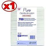 Carrés De Coton 100% Coton Hydrophile Le Sachet De 700 Carrés 5 X 5 Cm - Cot-055 - By Antigua Health Care
