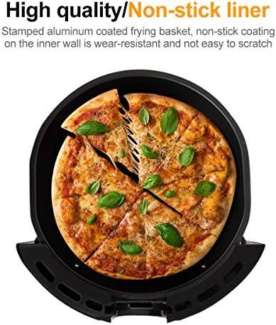 LFANH Air Fryer, 3.6L sans Huile Faible Teneur en Gras Numérique Saine Air Fryer (1350W) pour Frites/Crevettes/Poulet/Steak/Poisson, Minuterie Et Température Réglable