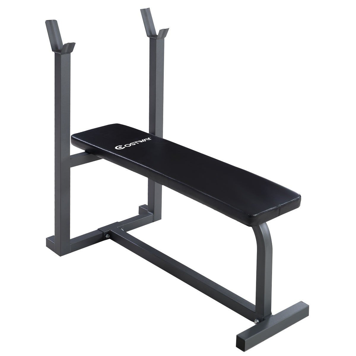 MyEasyShopping Weight Lifting Fitness Workout Sit up Board Bench Fitness Sit Up Weight Lifting Bench Workout Board Exercise Home Flat Gym
