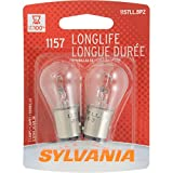 Automotive : SYLVANIA 1157 Long Life Miniature Bulb, (Contains 2 Bulbs)