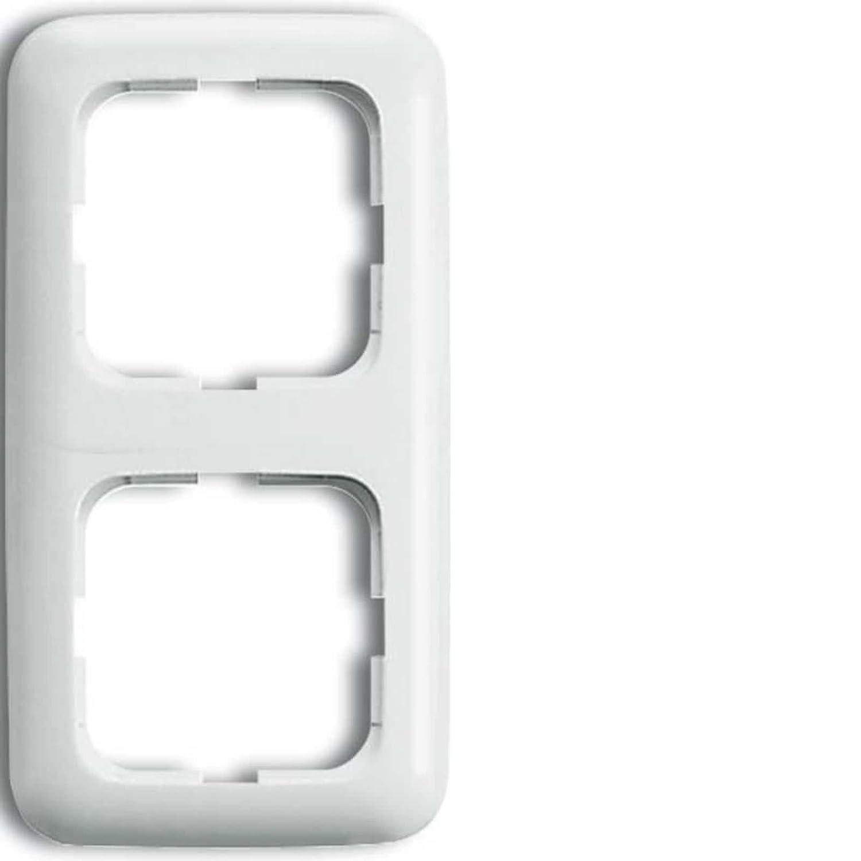 Busch J/äger Unterputz UP Bluetooth Radio 8217U Radioeinheit 8217 U Abdeckungen in 2 fach Rahmen integriert ReflexSI alpinwei/ß Komplett-Set Lautsprecher