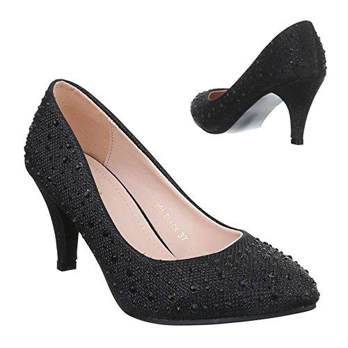 Ital-Design - Zapatos de Tacón Mujer negro
