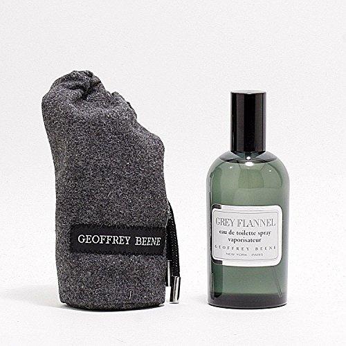 New GREY FLANNEL by Geoffrey Beene 4 Oz (118 ml) Eau De Toilette Spray for Men