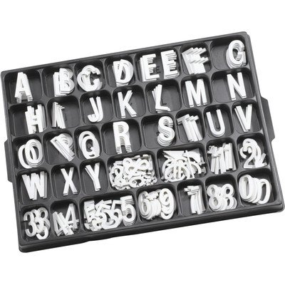 Universal Single Tab Helvetica Typeface Changeable Letters (320 characters per (Single Tab Changeable Letters)