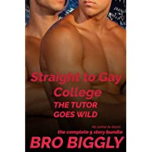 Straight to Gay College: The Tutor Goes Wild