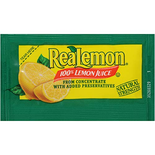 ReaLemon Lemon Juice (0.14 oz Packets, Pack of 200)