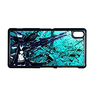 Art Back Phone Covers For Girly For Xperia Z2 Sony Design With Anime Black Rock Shooter Choose Design 2