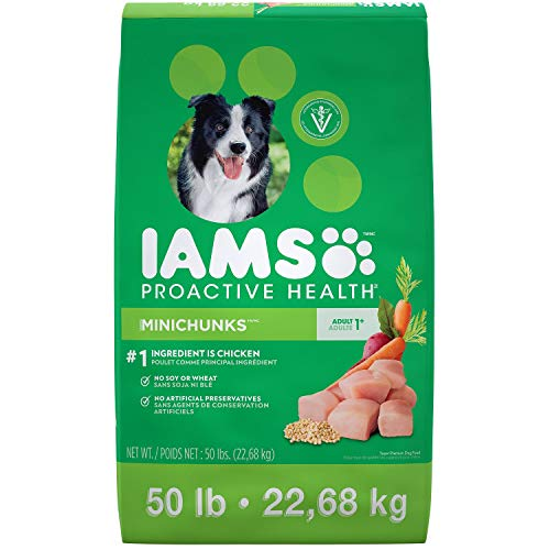 Iams Adult ProActive Health Minichunks Chicken Dry Dog Food (50 Lbs)