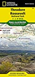Theodore Roosevelt National Park (National Geographic Trails Illustrated Map)