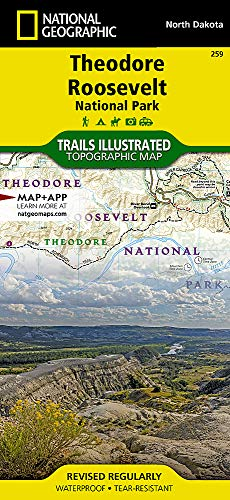 (Theodore Roosevelt National Park (National Geographic Trails Illustrated)