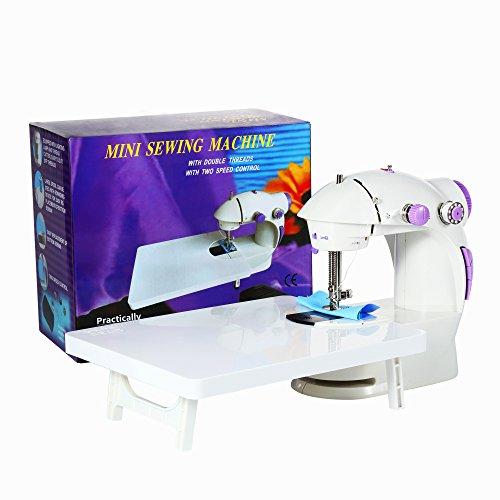 Learn More About Varmax 201 Mini Sewing Machine with Extension Table