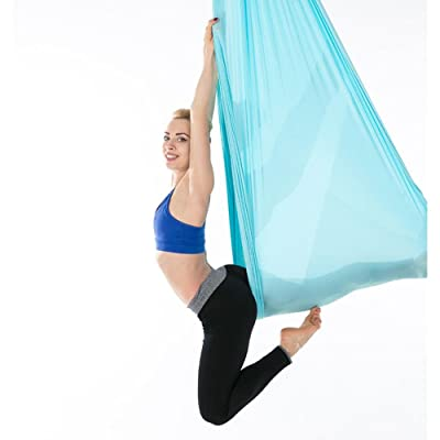 Yoga Swing Flying Hamac Air Stretch 2,8 m Yoga Bande Extensible Maison Yoga Hamac
