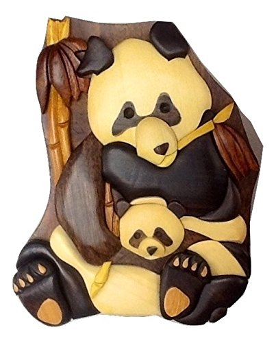 Wooden Mama And Baby Bear Puzzle Jewelry Box Design by Tiki